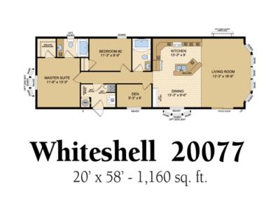 Whiteshell 20077