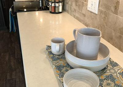 Full Height Tile Backsplash