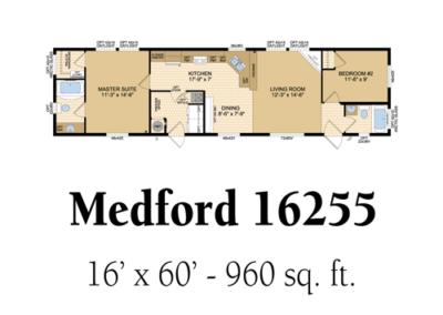 Medford 16255