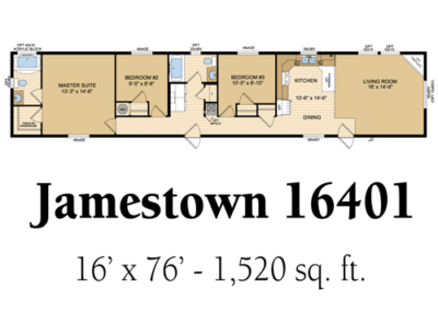 Jamestown 16401
