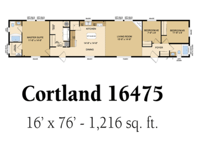 Cortland 16475