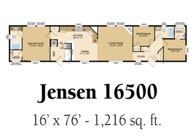 Jensen 16500
