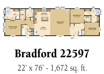 Bradford 22597
