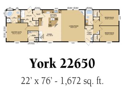 York 22650
