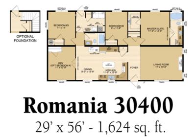 Romania 30400