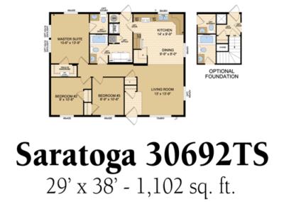 Saratoga 30692TS