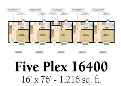 Five Plex 16400