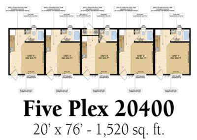 Five Plex 20400