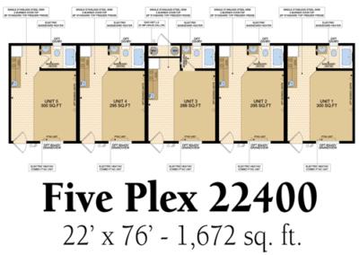 Five Plex 22400