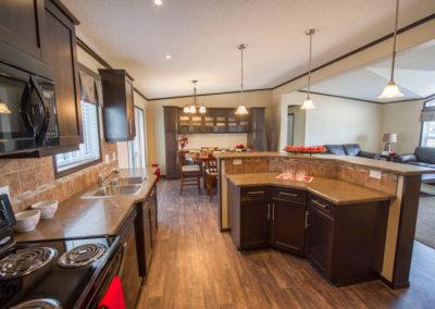 Kitchen with High Bar