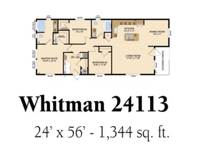 Whitman 24113