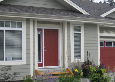 Recessed Front Entry