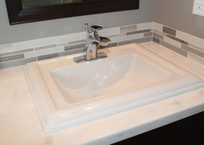 Bristal Bay Sink with Zarina Faucet